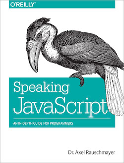 "Cover of ""Speaking JavaScript"""